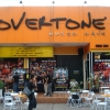 Overtone Music Cave, ready for the night's proceedings.